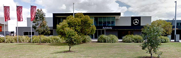 Mercedes-Benz Melbourne Autobody